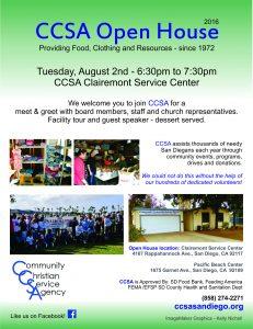 CCSA Open House 2016
